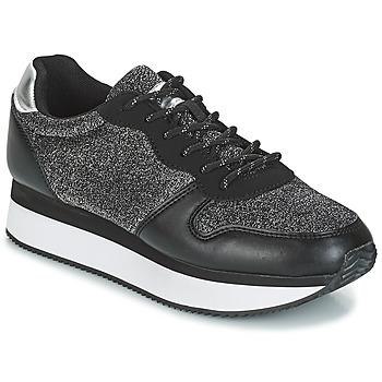 Sko Dame Lave sneakers André TYPO Sort / Sølv