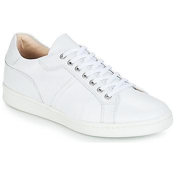 Sko Herre Lave sneakers André AURELIEN Hvid