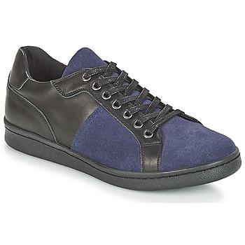 Sko Herre Lave sneakers André AURELIEN Blå