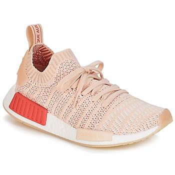 Sko Dame Lave sneakers adidas Originals NMD R1 STLT PK W Hvid