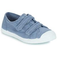 Sko Børn Lave sneakers André LITTLE SAND Blå