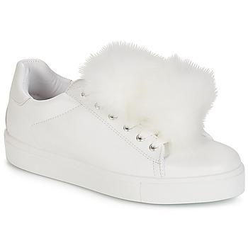 Sko Dame Lave sneakers André POMPON Hvid