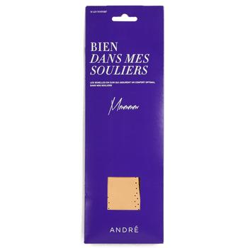 Accessories Skotilbehør André SEMELLE CUIR Beige