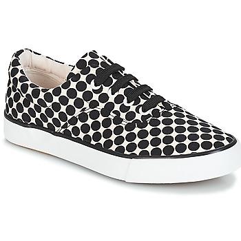Sko Dame Lave sneakers André FUSION Polka dot / Sort
