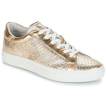 Sko Dame Lave sneakers André FELICIA Gylden