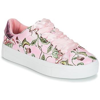Sko Dame Lave sneakers André POPY Pink