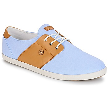 Sko Lave sneakers Faguo CYPRESS13 Blå / Kamel