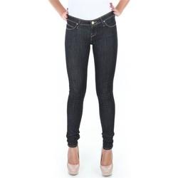 textil Dame Jeans - skinny Lee Spodnie  Toxey Rinse Deluxe L527SV45 blue