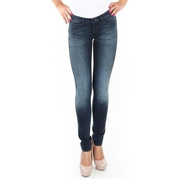 textil Dame Jeans - skinny Wrangler Spodnie  Corynn W25FU453J blue