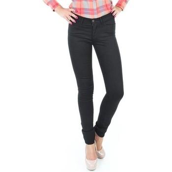 textil Dame Jeans - skinny Wrangler Jaclyn INK LUX W26DBI33L black