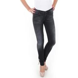 textil Dame Jeans - skinny Wrangler Jaclyn W26DLI53K black