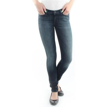 textil Dame Jeans - skinny Wrangler Jeans  Jaclyn  Dark Lake W26DU468Y blue