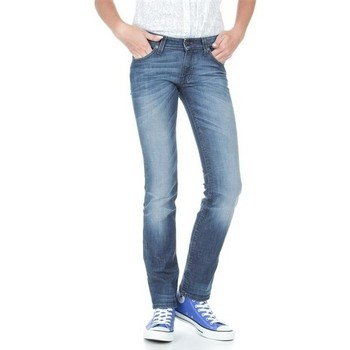 textil Dame Smalle jeans Lee Marlin L337AMPI blue