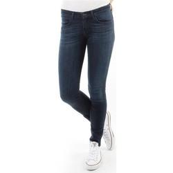 textil Dame Jeans - skinny Wrangler Spodnie Damskie CORYNN BLUE SHELTER W25FU466N blue