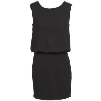 textil Dame Korte kjoler Morgan ROUXE Sort