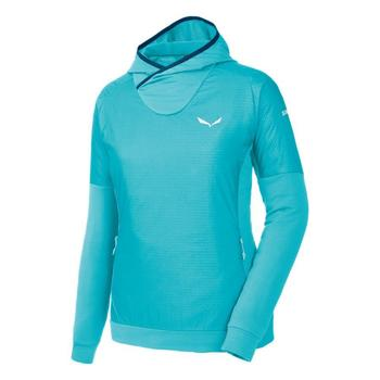 textil Dame Fleecetrøjer Salewa Bluza  Pedroc PTC Alpha W Hoody 26355 blue