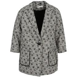 textil Dame Frakker See U Soon CARA Sort / Hvid