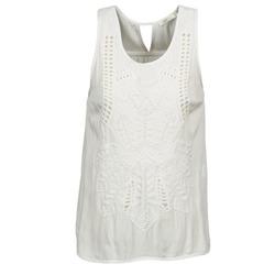 textil Dame Toppe / T-shirts uden ærmer See U Soon CHELSEA Hvid / Grå