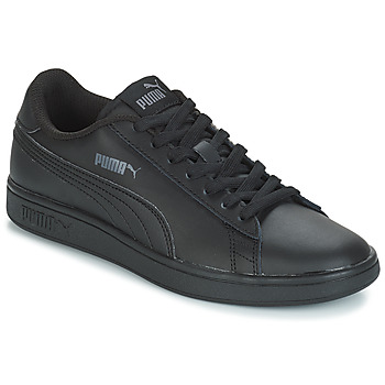 Sko Børn Lave sneakers Puma PUMA SMASH V2 L Sort