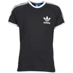textil Herre T-shirts m. korte ærmer adidas Originals SPORT ESS TEE Sort