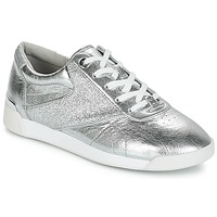 Sko Dame Lave sneakers MICHAEL Michael Kors ADDIE LACE UP Sølv