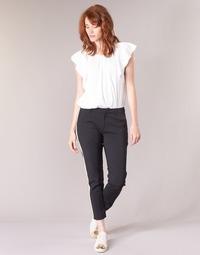 textil Dame Cargo bukser Maison Scotch ZERATRE Sort / Hvid