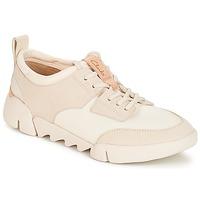 Sko Dame Lave sneakers Clarks Tri Spirit Hvid / Kombi
