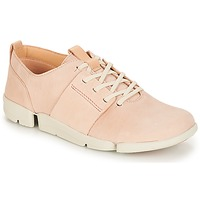 Sko Dame Lave sneakers Clarks Tri Caitlin Pink