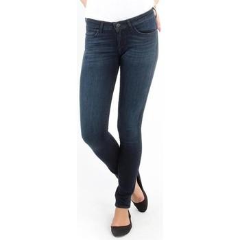 textil Dame Jeans - skinny Wrangler Jeans   Courtney blue shelter W23SU466N blue