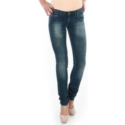 textil Dame Jeans - skinny Wrangler Spodnie  Molly 251XB23C blue