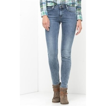textil Dame Jeans - skinny Lee Scarlett Skinny L526WMUX blue