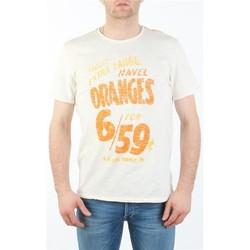 textil Herre T-shirts m. korte ærmer Lee MARCANTILE L668ABBC white