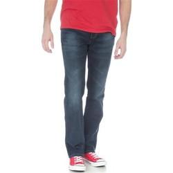 textil Herre Lige jeans Wrangler Arizona Stretch W12O8343C navy
