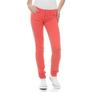 textil Dame Jeans - skinny Wrangler Jeans  Molly Melon W251U229M red
