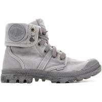 Sko Dame Høje sneakers Palladium US Baggy W 92478-066-M grey