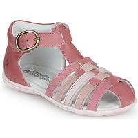 Sko Pige Sandaler Citrouille et Compagnie VISOTU Pink / Flerfarvet