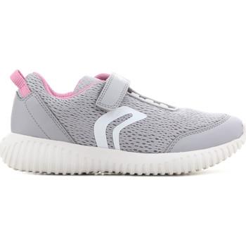 Sko Børn Sandaler Geox J Waviness G.C J826DC 01454 C1296 grey, pink