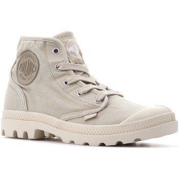 Sko Dame Høje sneakers Palladium Manufacture Pampa Hi 92352-238-M beige