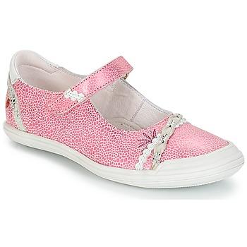 Sko Pige Lave sneakers GBB MARION Vte / Rosa-hvid / Dpf / Zara