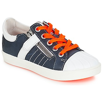 Sko Dreng Lave sneakers GBB MAXANCE Vte / Marine-hvid / Dpf / 2706