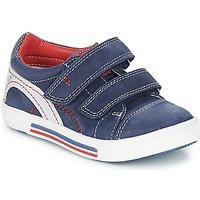 Sko Dreng Lave sneakers Catimini PERRUCHE Nus / Marine-rød / Dpf / Strike