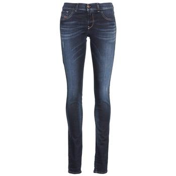 textil Dame Smalle jeans Diesel LIVIER Blå