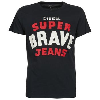 textil Herre T-shirts m. korte ærmer Diesel T-ASTERIOS Sort