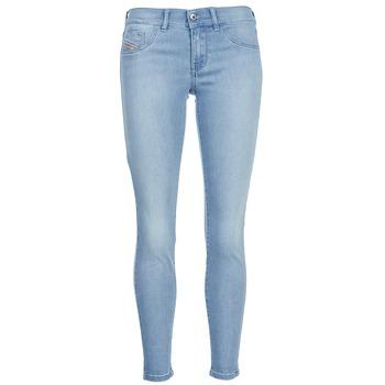 textil Dame Smalle jeans Diesel LIVIER ANKLE Blå / LYS