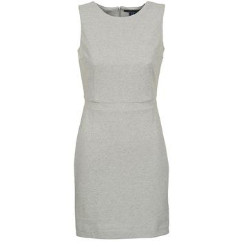 textil Dame Korte kjoler Gant L. JERSEY PIQUE Grå