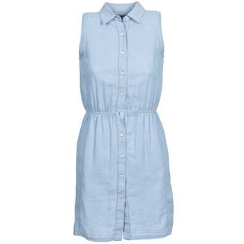 textil Dame Korte kjoler Gant O. INDIGO JACQUARD Blå