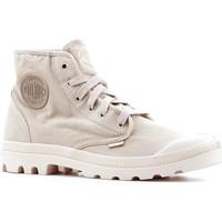 Sko Herre Høje sneakers Palladium Manufacture Pampa Hi 02352-238-M beige