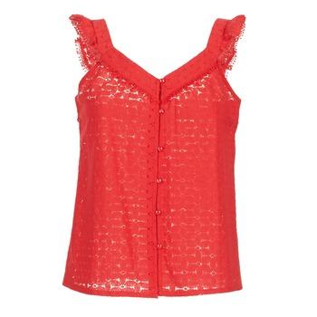 textil Dame Toppe / Bluser Betty London  Rød