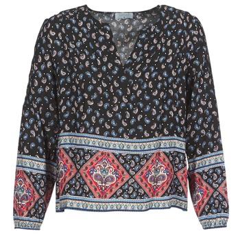 textil Dame Toppe / Bluser Casual Attitude WASAS Sort / Flerfarvet