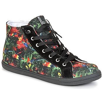 Sko Dame Høje sneakers Love Moschino JA15132G0KJE0000 Sort / Flerfarvet